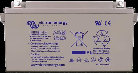 Bateria Victron Gel Deep Cycle 12V www.suenergiasolar.com
