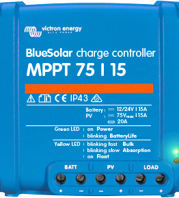 Regulador Maximizador Victron MPPT 75 V15 A www.suenergiasolar.com