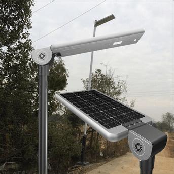 Farola solar con leds slp 40 todo en uno - Farolas led solares ...