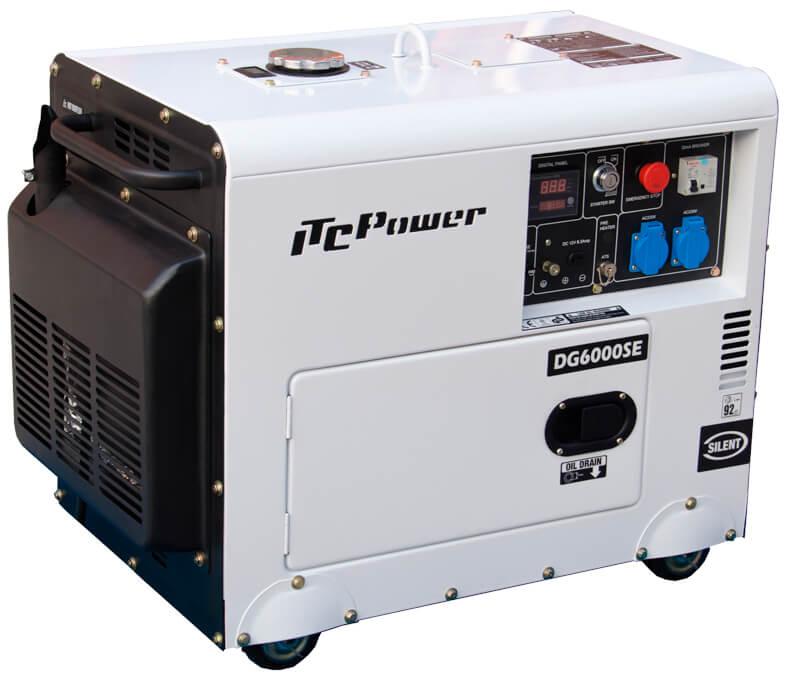 Generador Diesel DG6000SE 5,3 kw www.suenergiasolar.com