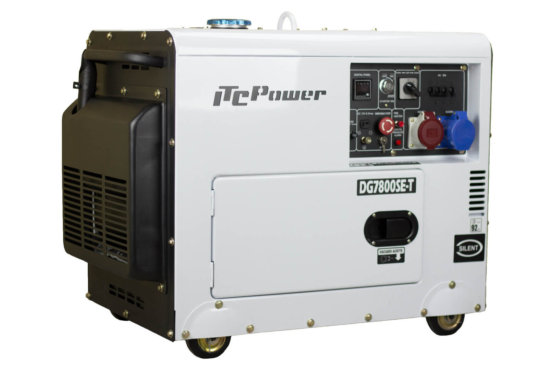 Generador Diésel Full Power ITCPower www.suenergíasolar.com