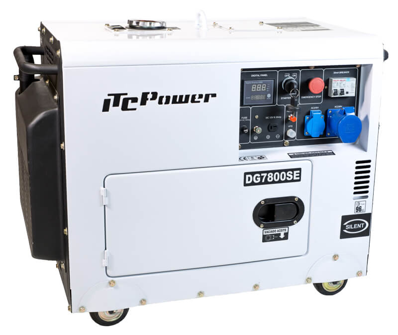 Generador Diesel DG7800SE 6.3 kw