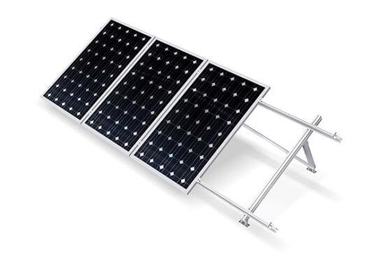 Estructura módulos fotovoltaicos Regulable