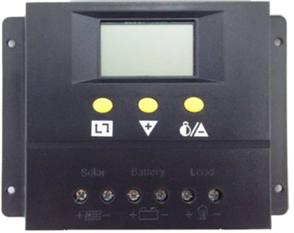 REGULADOR DE CARGA SOLAR 50A 12V 24V LCD www.suenergiasolar.com