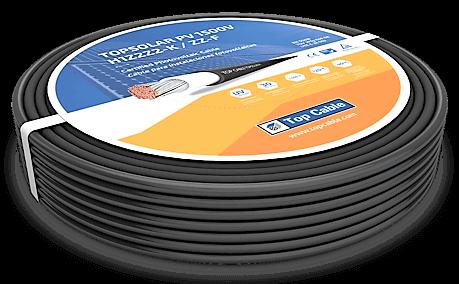 Cable Solar unipolar 10mm para paneles fotovoltaicos