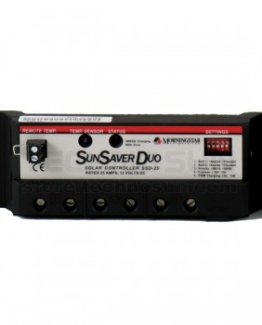 REGULADOR 25A-12V PARA DOS BATERÍAS – SSD-25 – MORNINGSTAR www.suenergiasolar.com